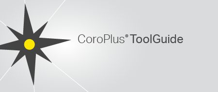 CoroPlus ToolGuide: Find the right tool for your application